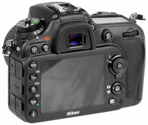 Nikon D7200 – Vista posteriore